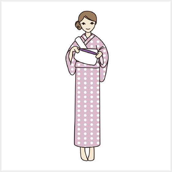 【基本】初めての浴衣の着付